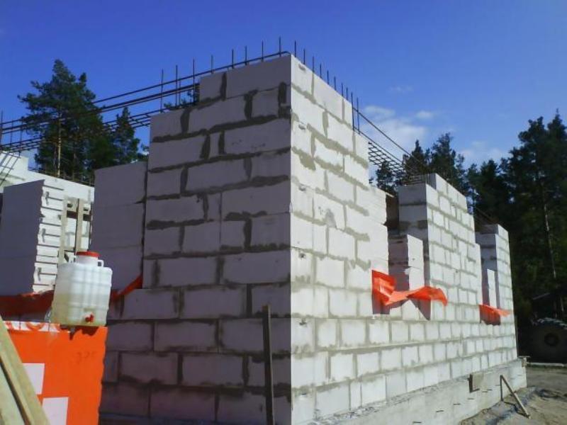 Стройка дома своими руками из газобетона